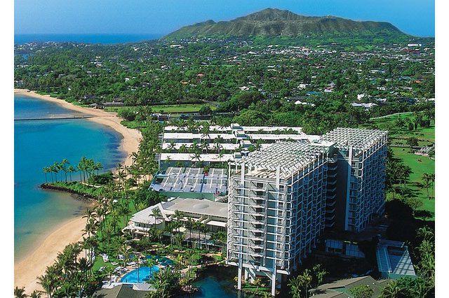 Aerial View of the Kahala Hotel & Resort