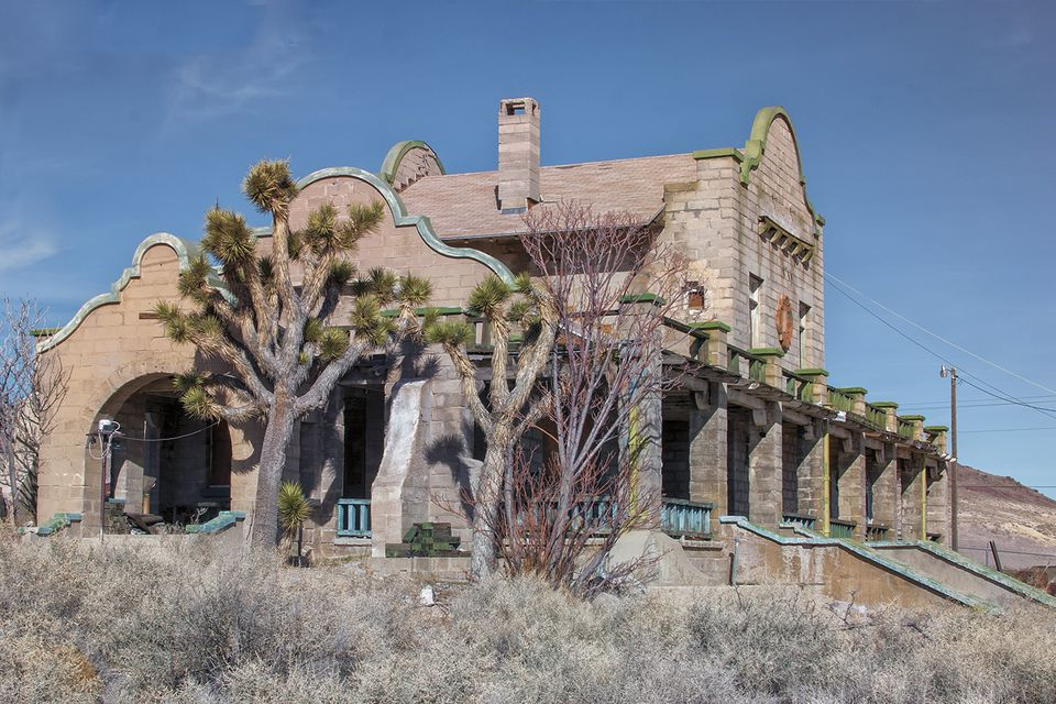 glass bottle house at Rhyolite Nevada | Wandering through ... |Rhyolite Ghost Town