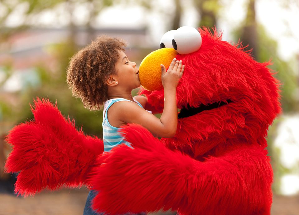Elmo at Sesame Place