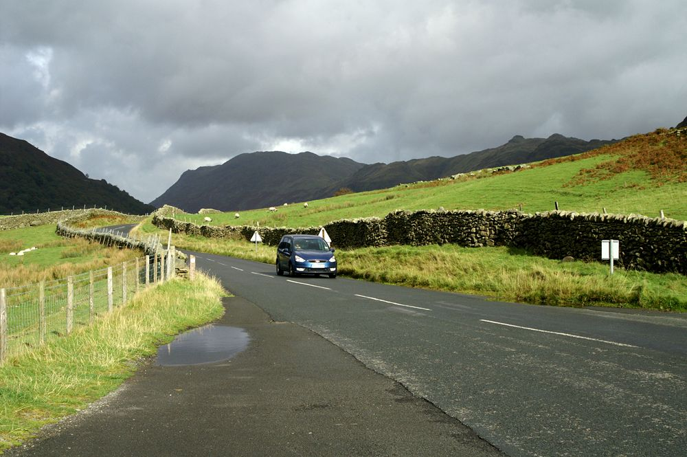 Kirkstone Pass in the Lake District - The Roadway Called The Struggle
