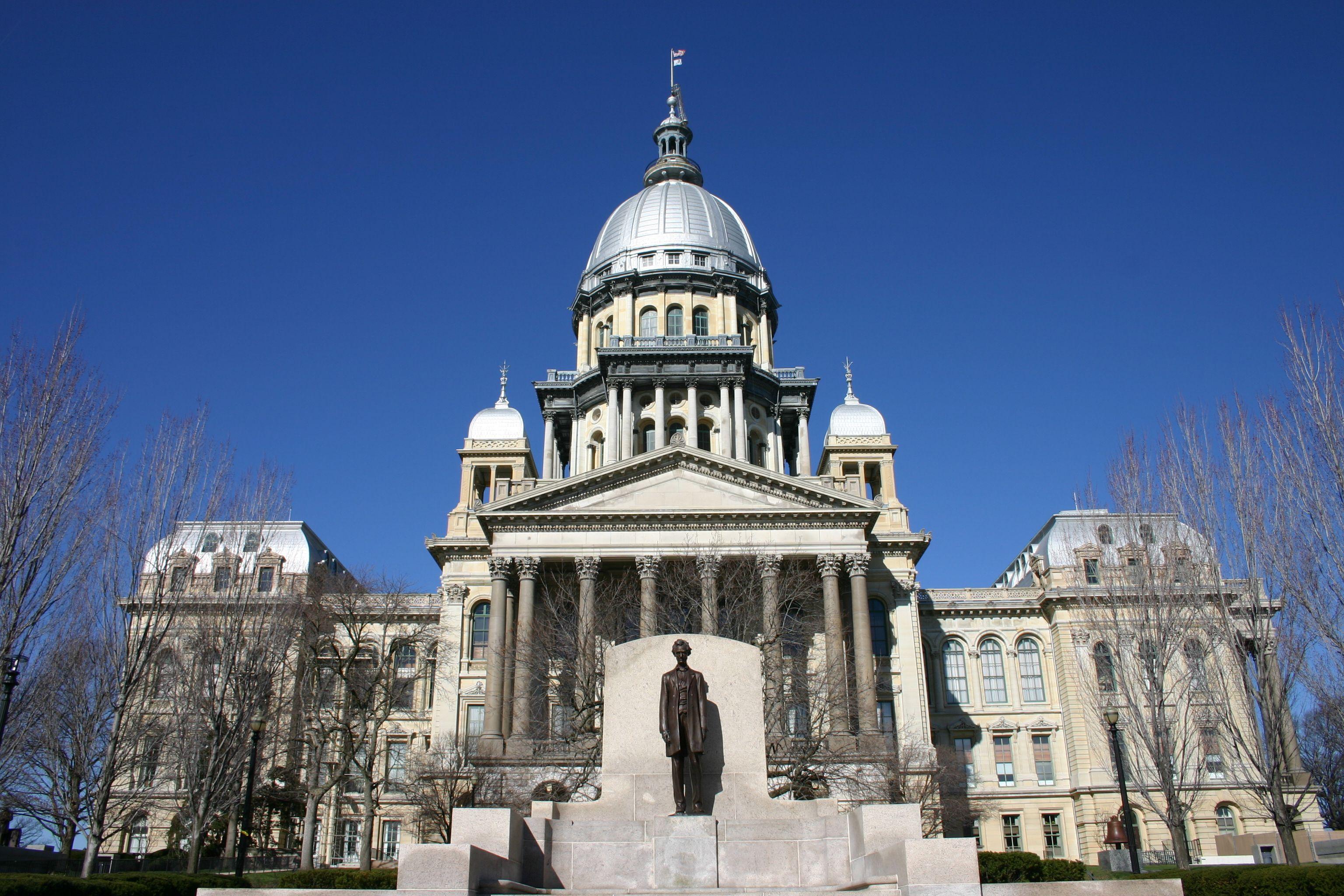 Edificio del Capitolio del Estado de Illinois en Springfield