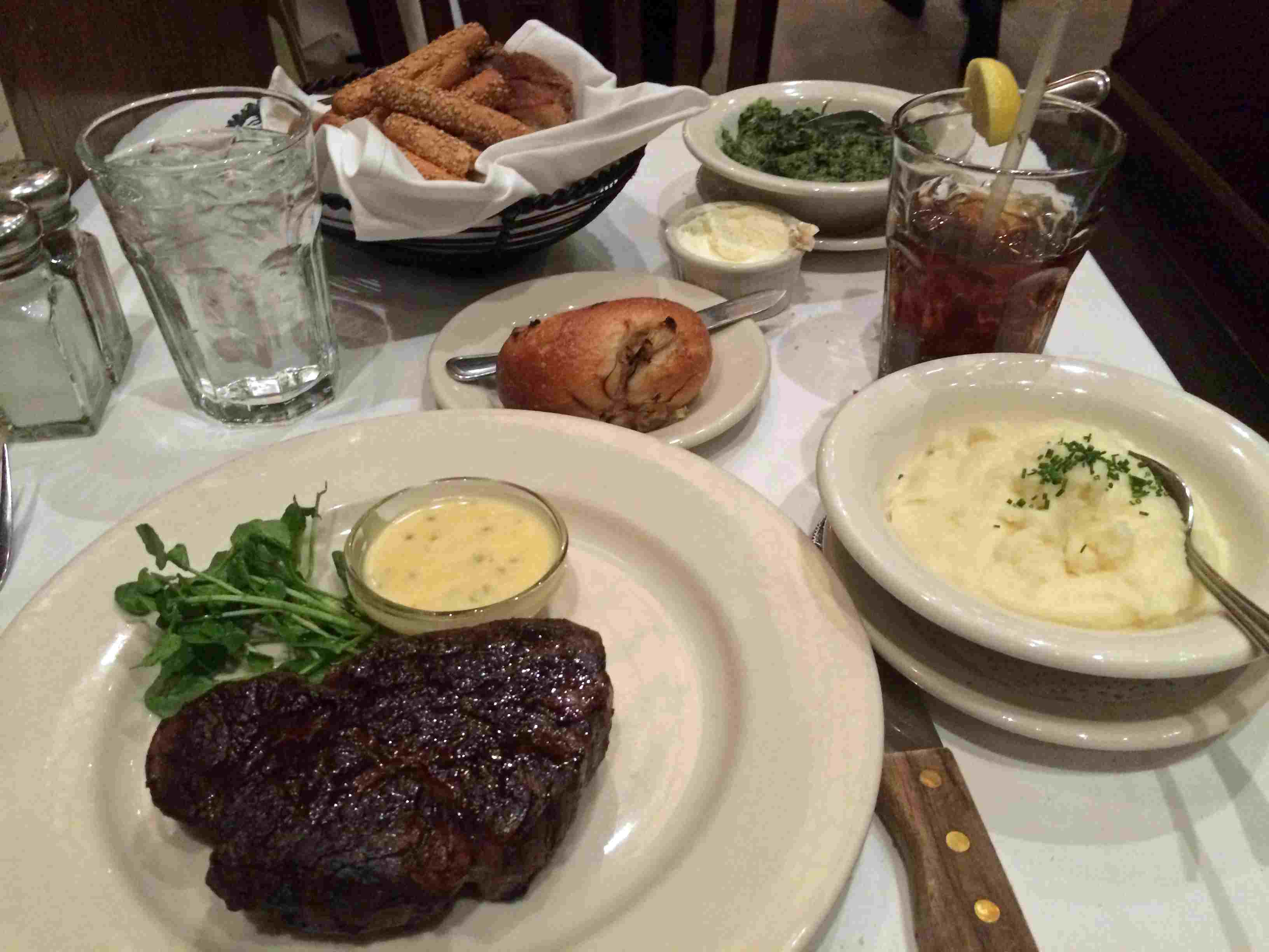 Finding a great steak is easy in Manhattan -- but prices can be daunting.