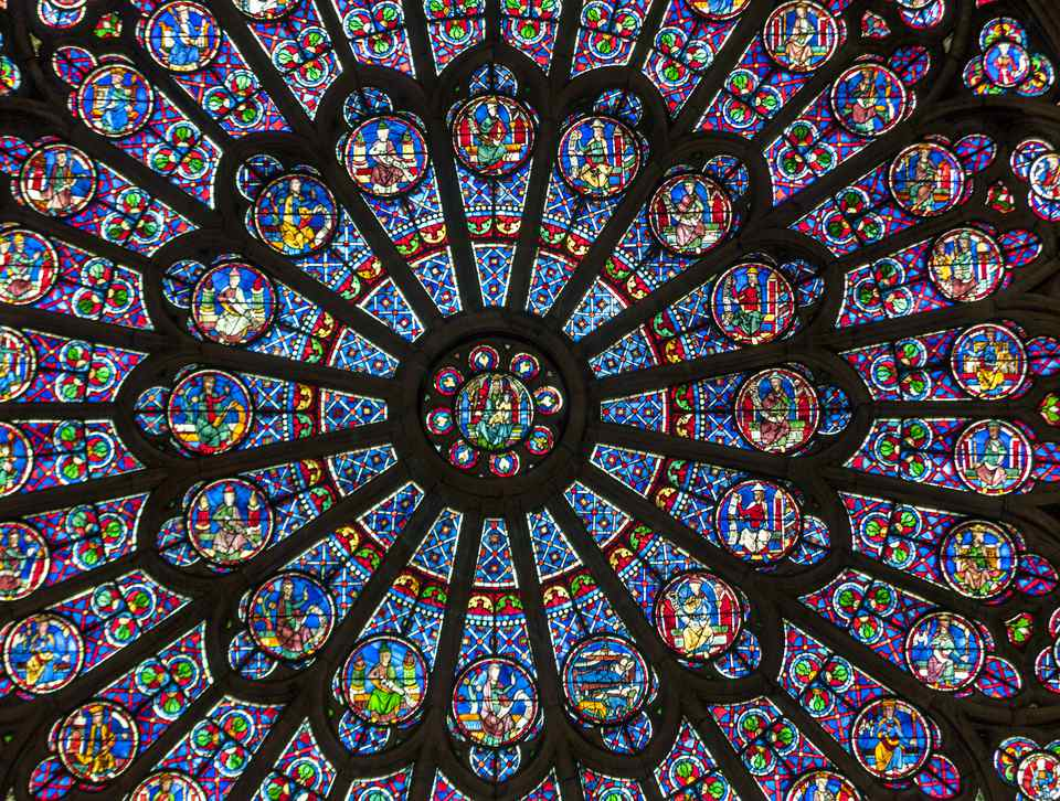 Image result for notre dame cathedral paris beautiful inside windows