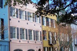 Charleston's Rainbow Houses