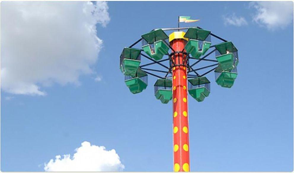 Traders Village amusement park in Grand Prairie Texas