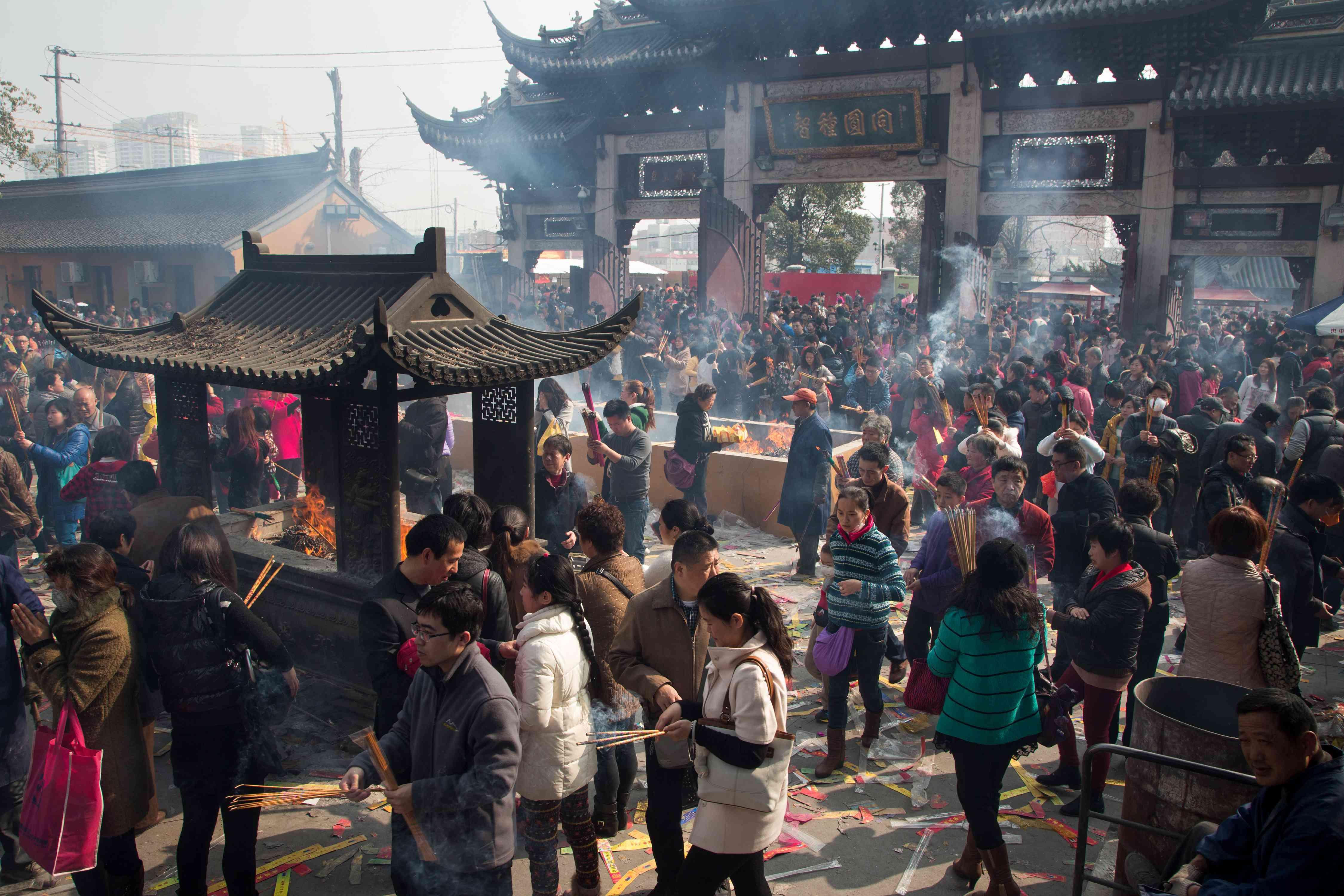 Longhua Temple in Shanghai
