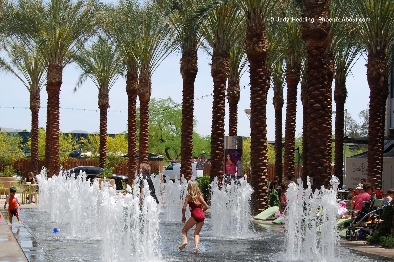 Phoenix Area Pop Jet Fountains And Splash Playgrounds