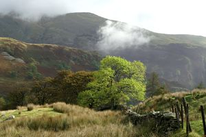 The Lake District - Morning Mist in Kirkstone Pass