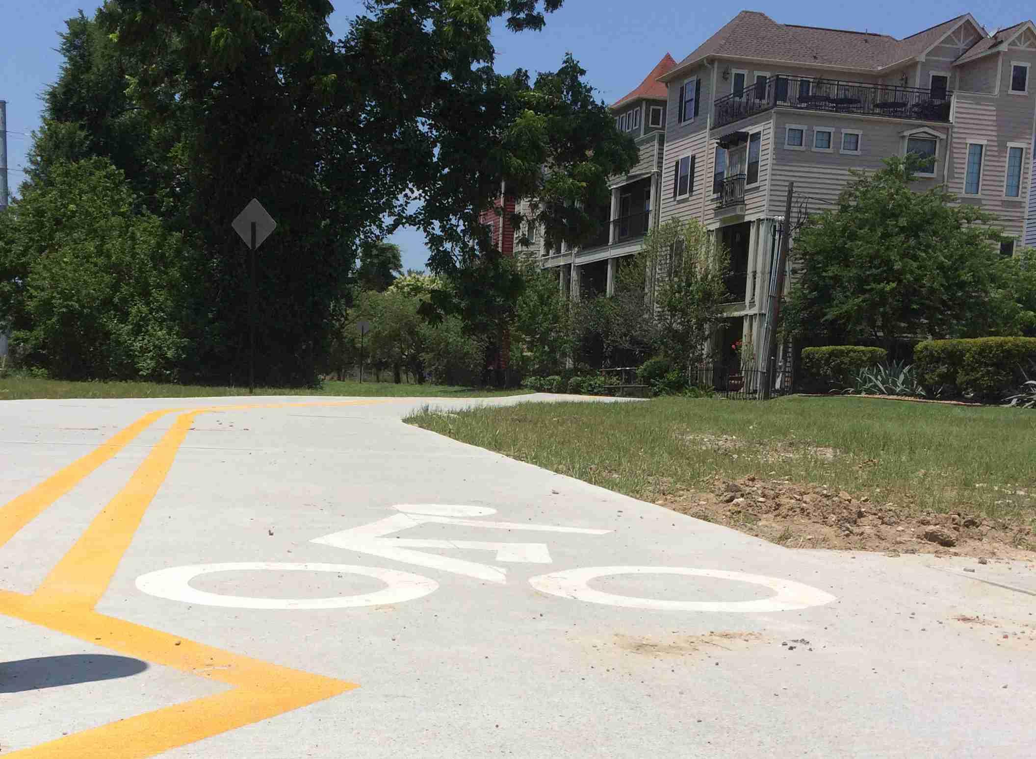 Houston Heights Hike and Bike Trail