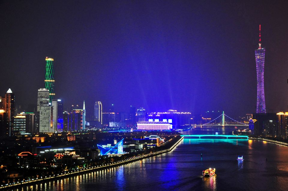 The Pearl River in Guangzhou