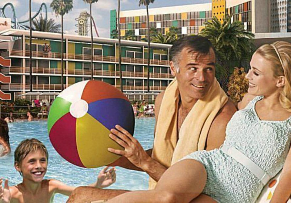 Cabana Bay Beach Resort en Universal Orlando