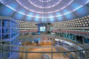 Basketball Hall of Fame interior