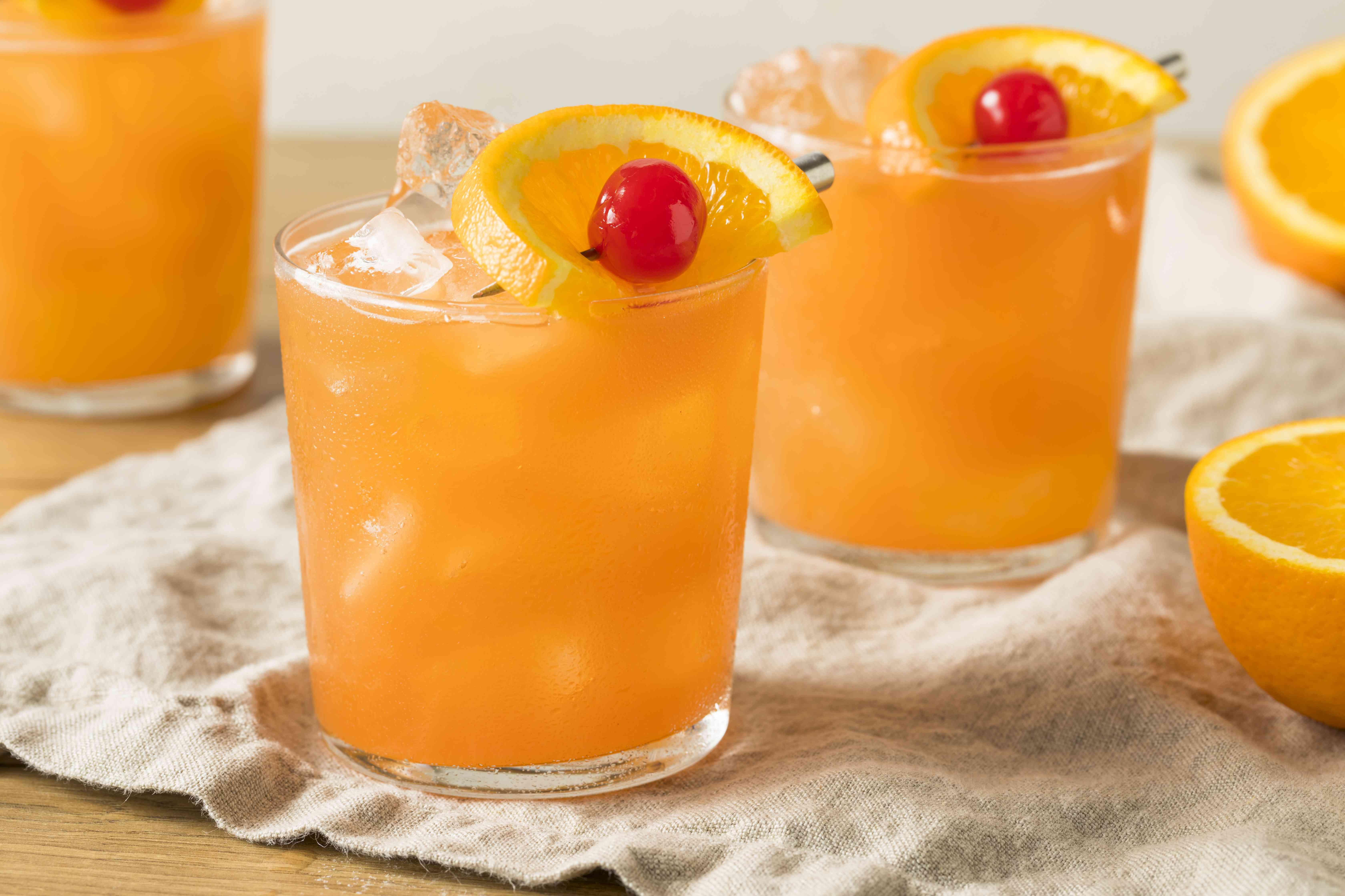 Sweet Alcoholic Rum Swizzle
