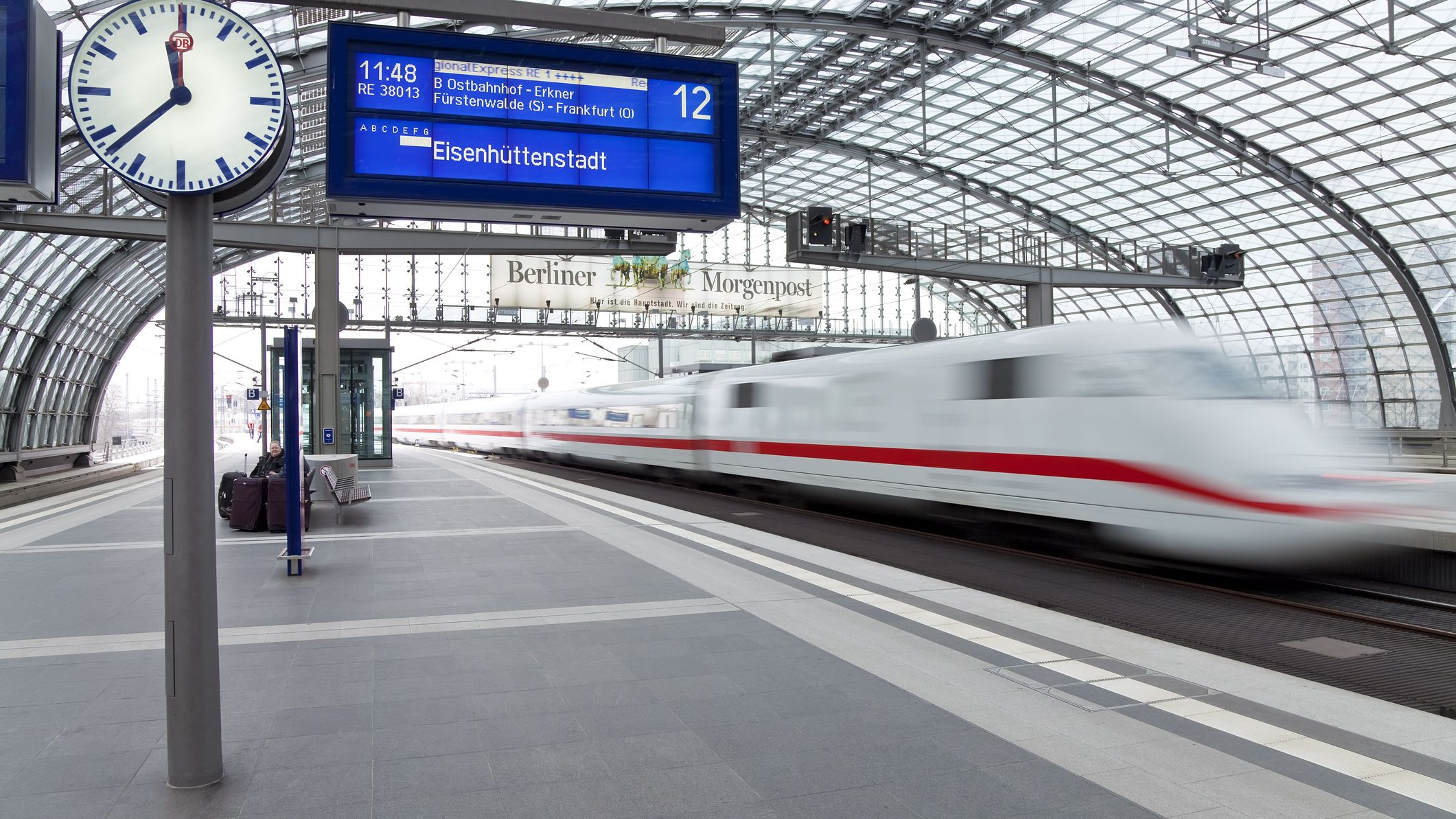Useful German Phrases for Train Travel