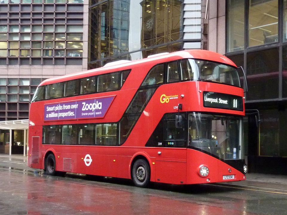 London Property for Overseas Investors: Tipping London Bus |London Transit Buses