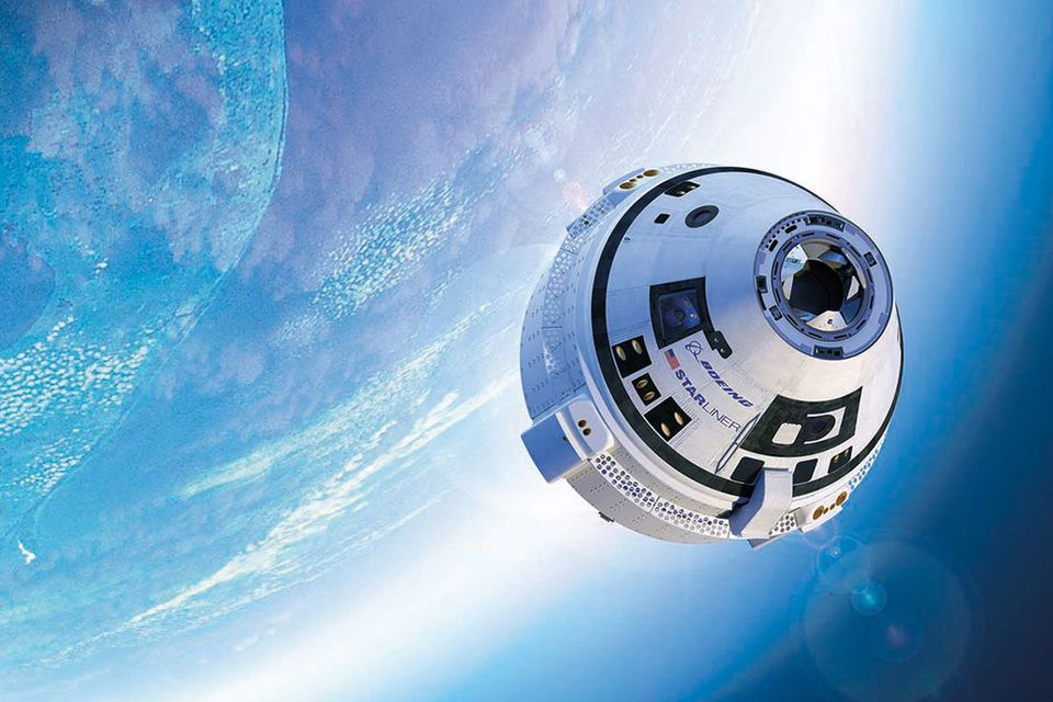 Boeing Starliner space capsule