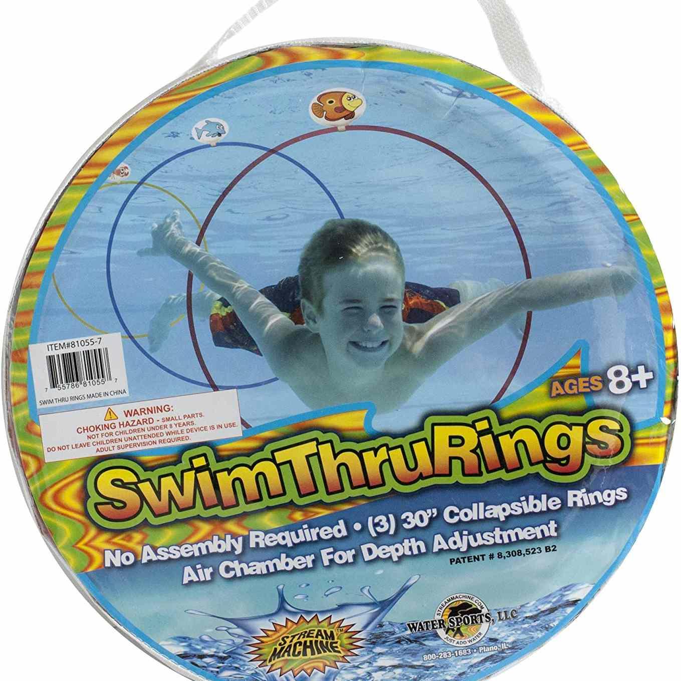 Water Sports Swim Through Rings