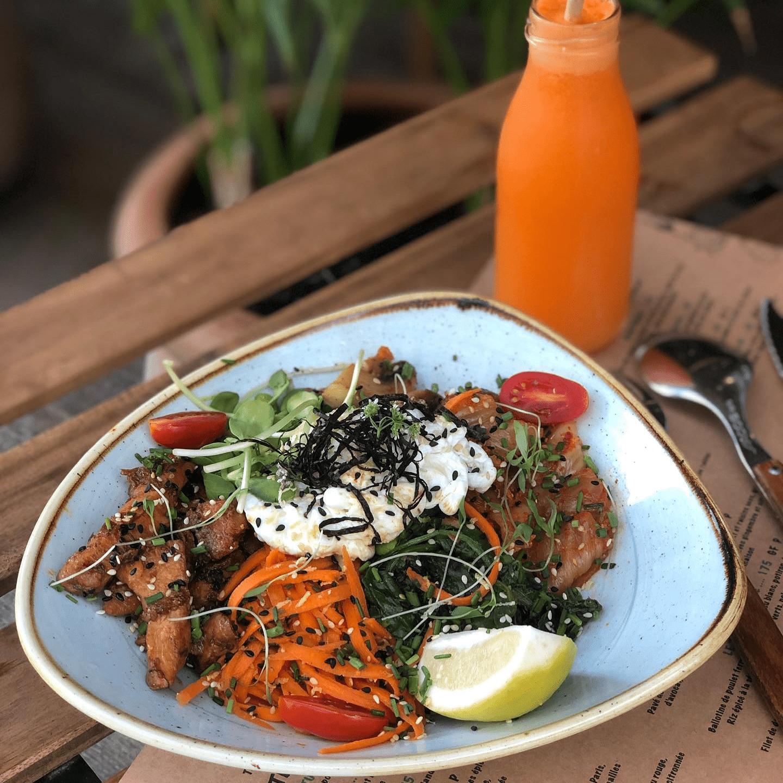 Bibambop at Organic Kitchen