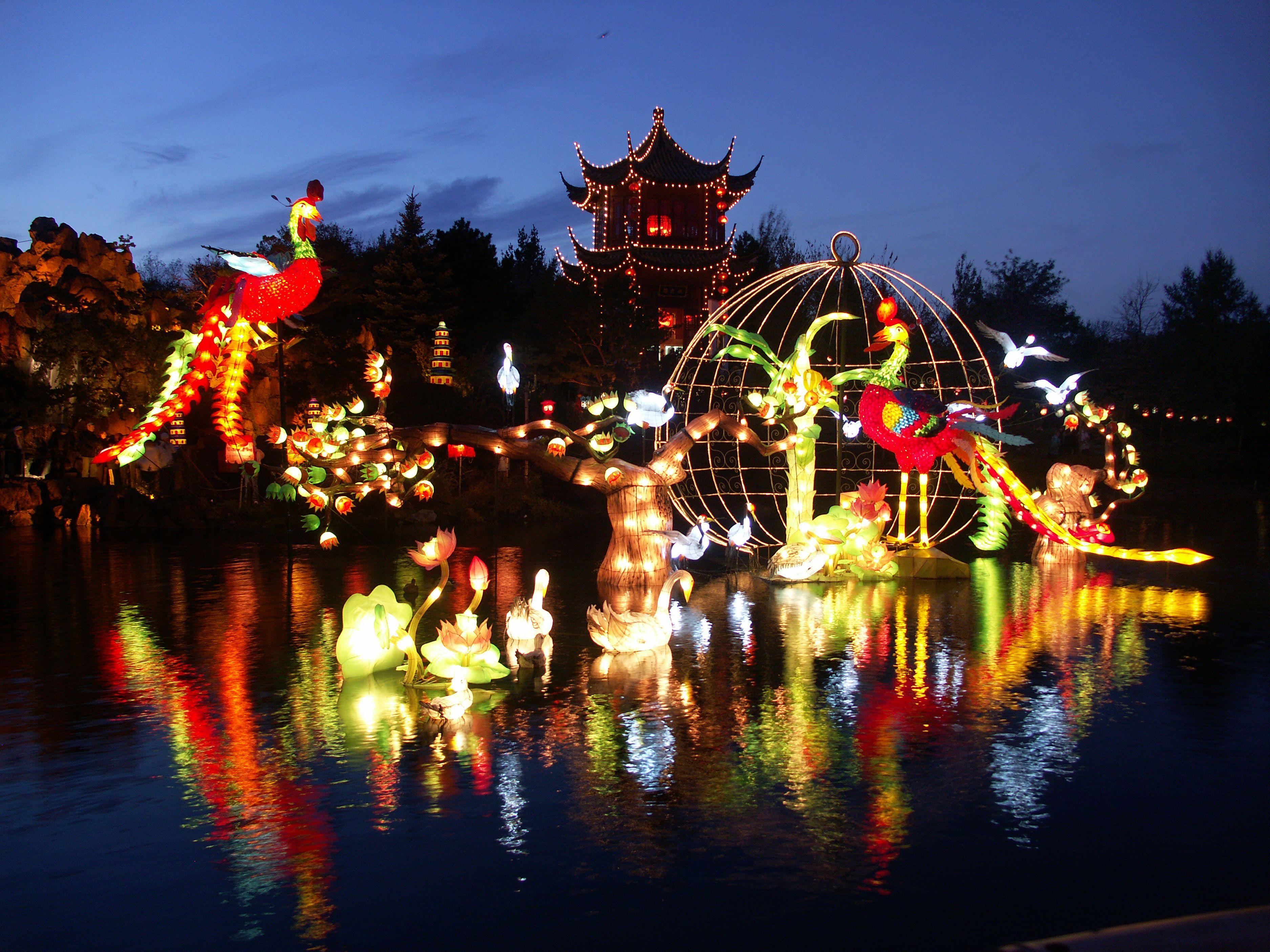 Gardens of Lights at Montreal Botanic Garden