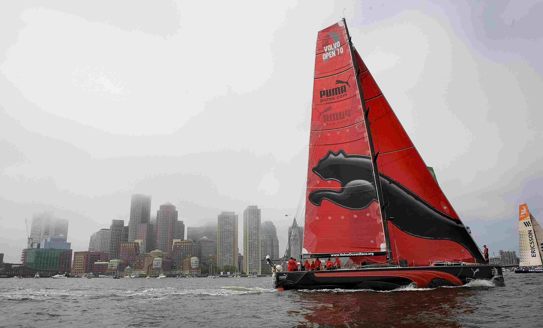 PUMA Ocean Racing's 'il mostro' Sailboat