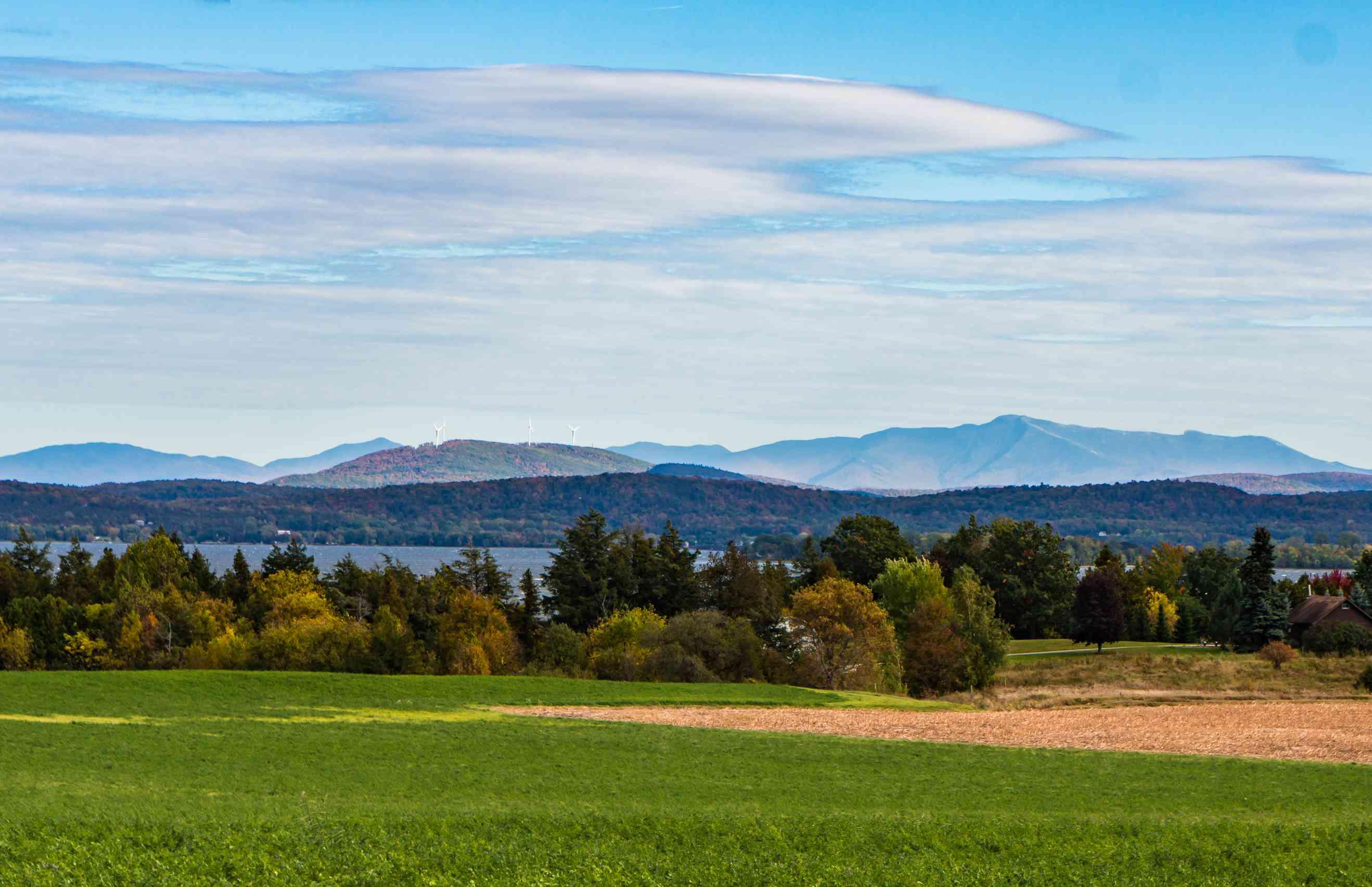 Grand Isle in Lake Champlain, Vermont