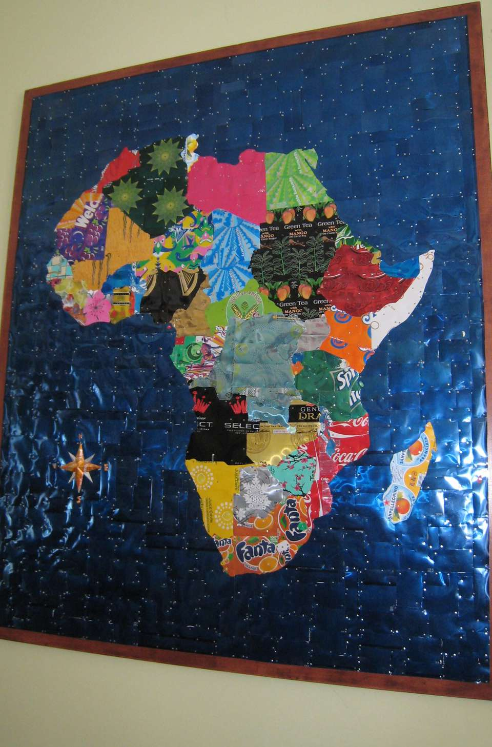 Map Of Africa To Scale.Various Maps Showing How Big Africa Is