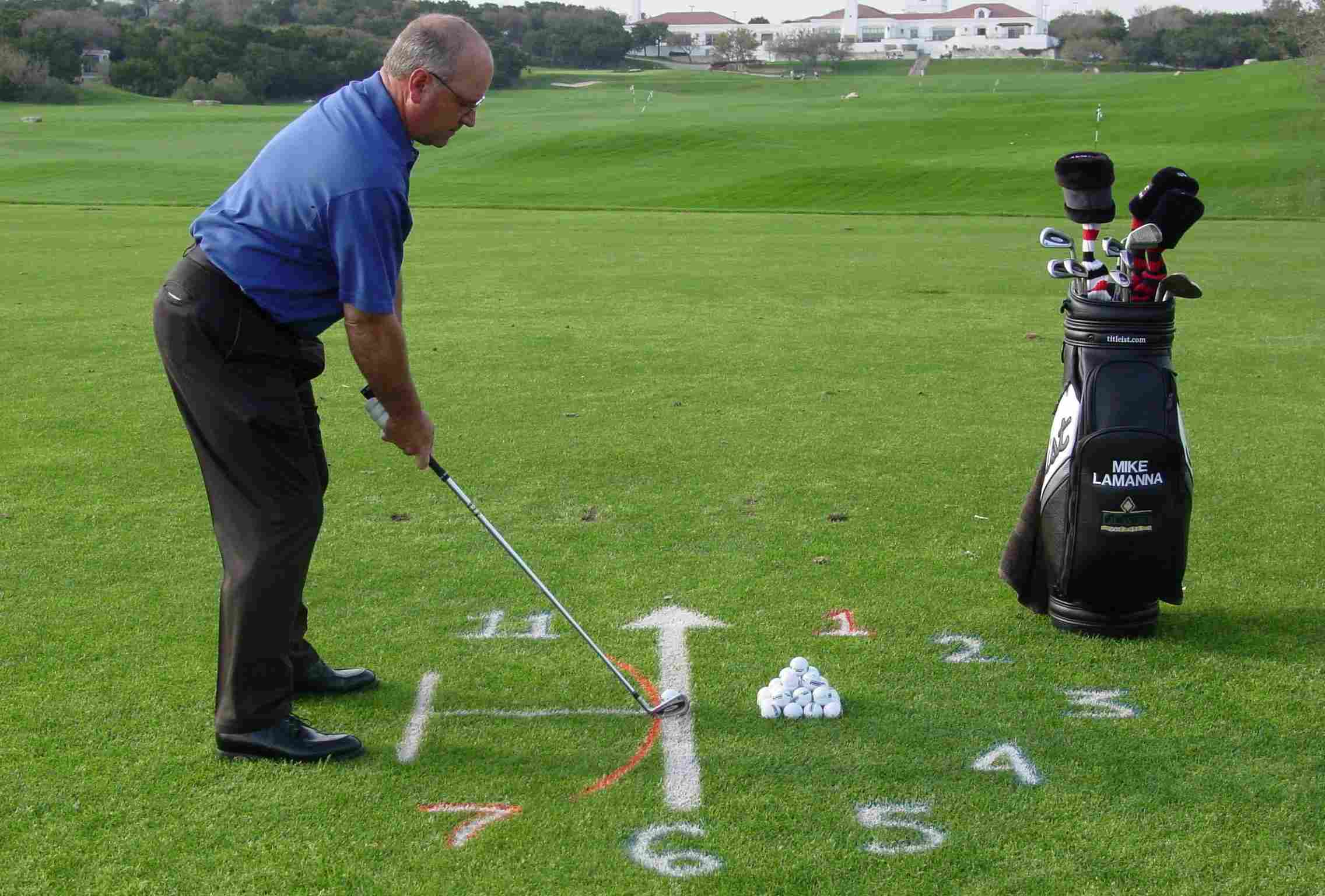 Step 1 in a great golf stance is understanding how important it is - and proper alignment