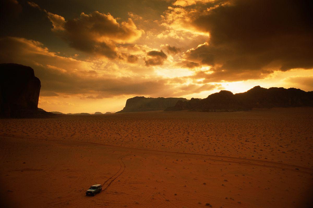 4x4 in Wadi Rum