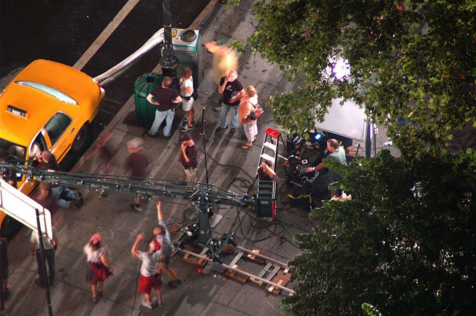 filmación de películas en Nueva York