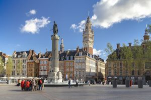 Lille is a historically Flemish city on the Belgian border.