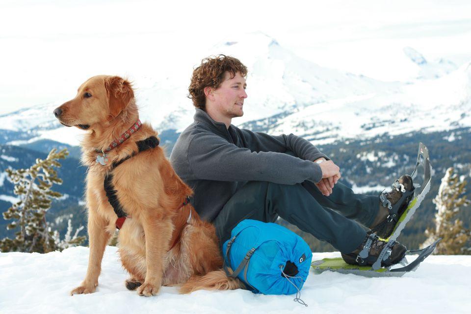 Hoboroll and dog