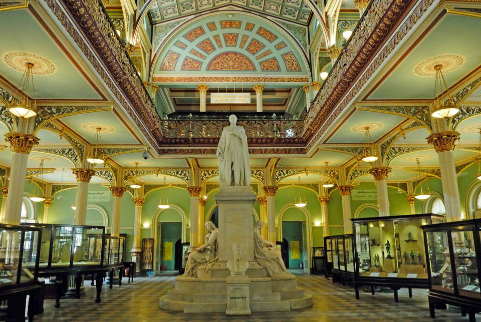Statue of Prince Albert in Bhau Daji Lad Museum, Byculla