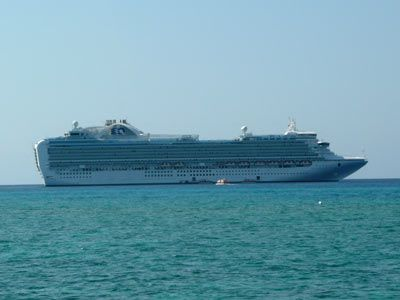 Aboard The Ruby Princess Cruise Ship
