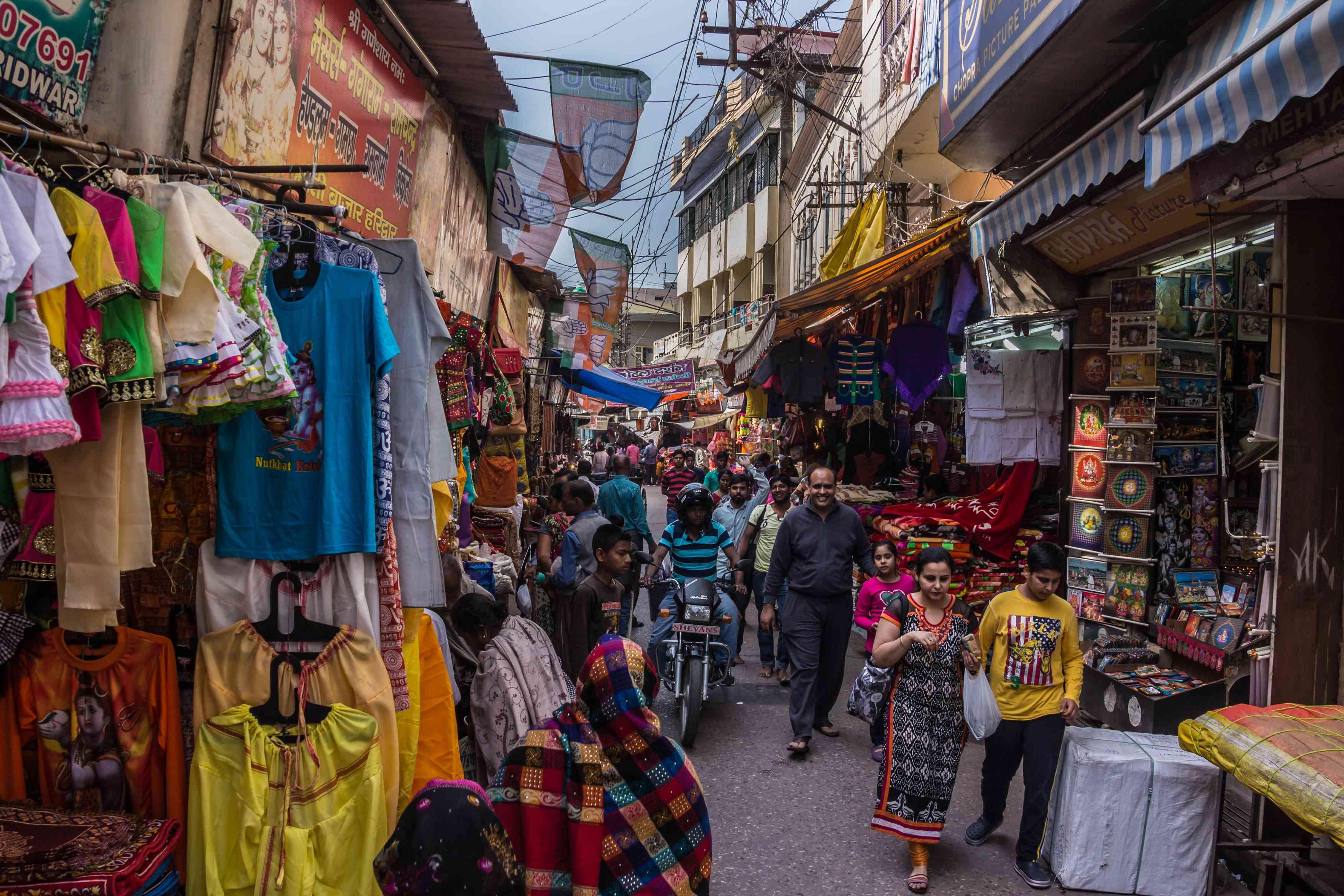 Moti Bazaar, Haridwar.