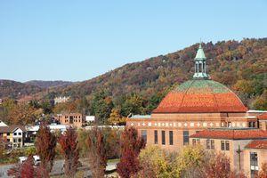 Asheville, North carolina in Autumn