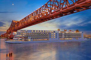Viking Mississippi river cruise rendering