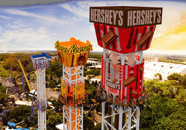 Hershey Triple Drop Tower