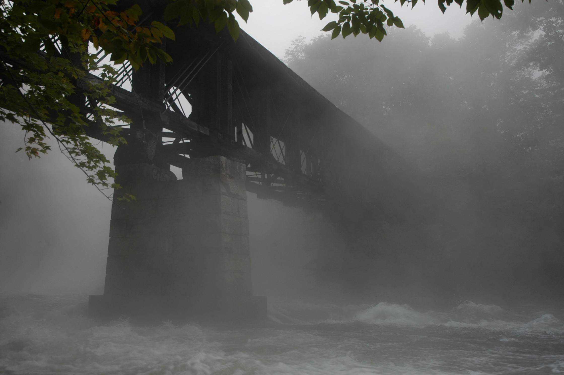 Sulphite Bridge - Unusual NH Covered Bridge