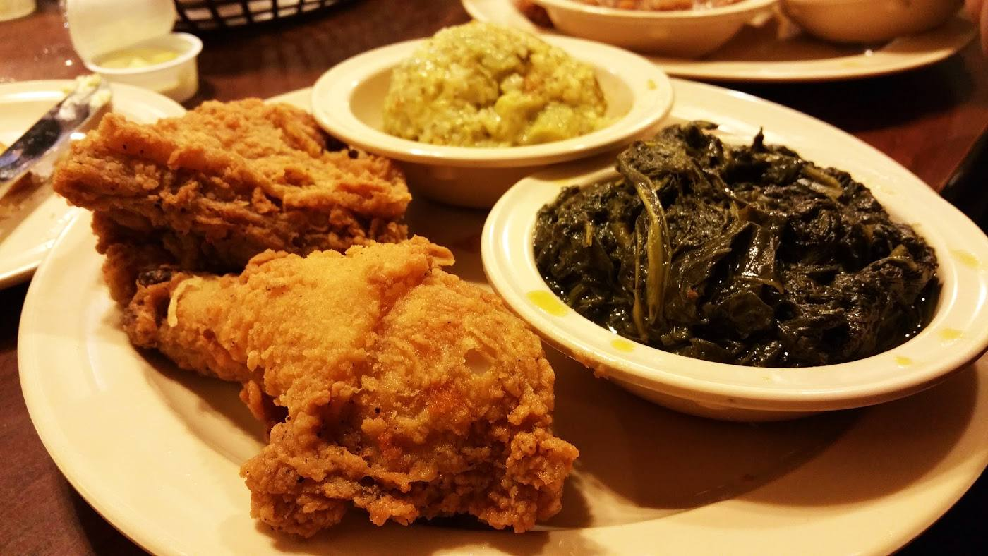 Fried Chicken at Busy Bee Cafe