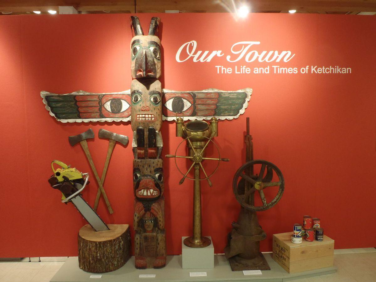 Tongass Historical Museum in Ketchikan