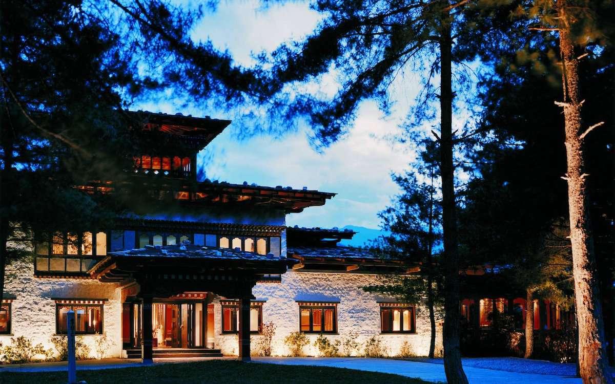 Como Uma Paro Bhutan