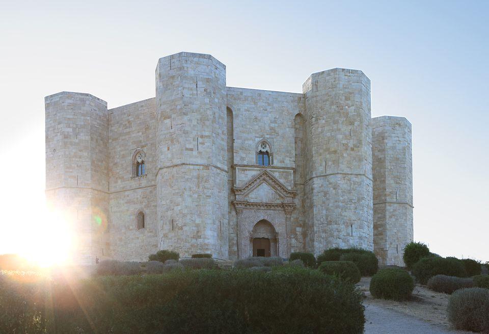 Italy, Puglia, Andria, Castel del Monte.