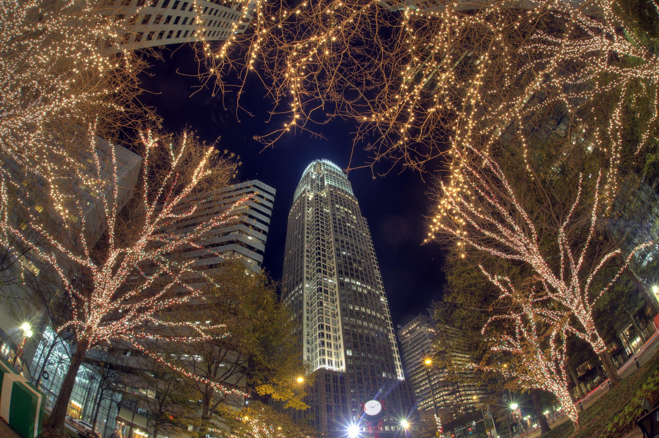 Charlotte, NC Christmas Lights