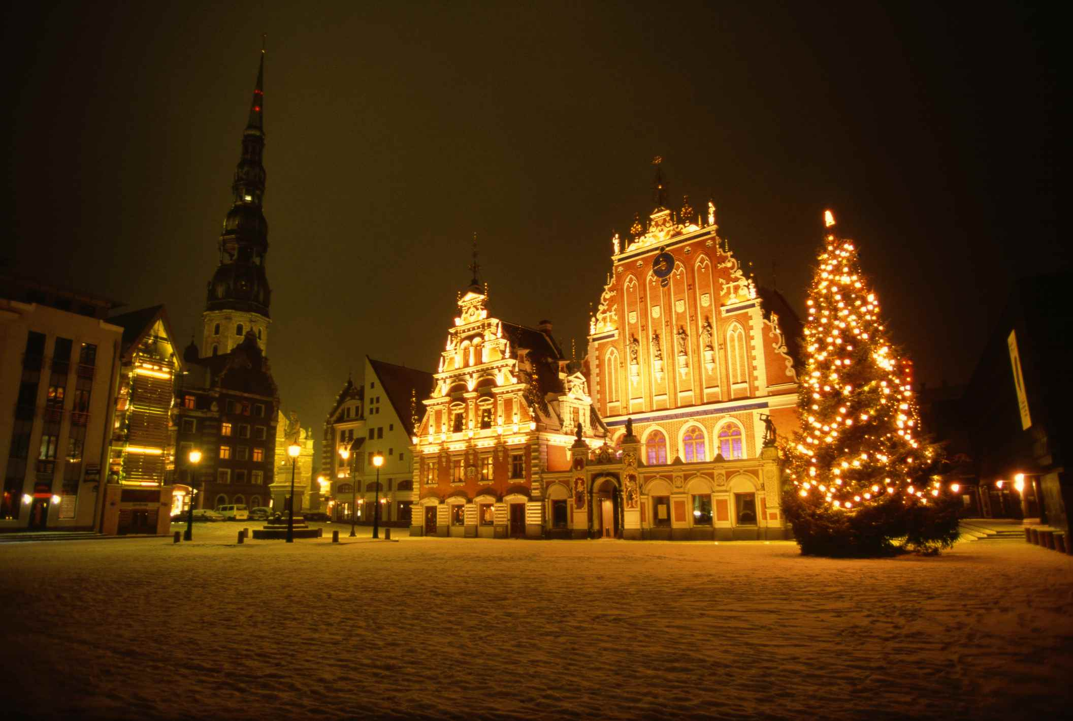 Christmas In Europe.Visiting Eastern Europe For Christmas
