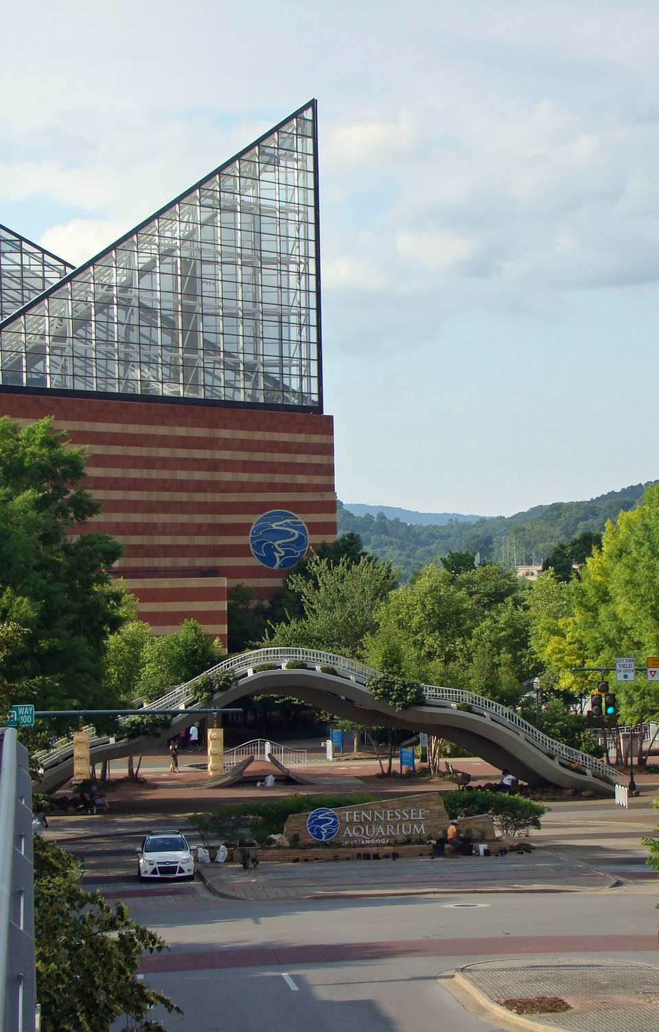 The Tennessee Aquarium is one of Chattanooga's top tourist attractions.
