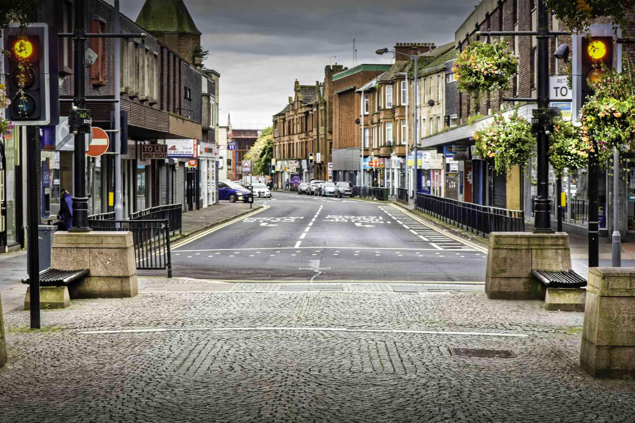 Kilmarnock Town in Scotland