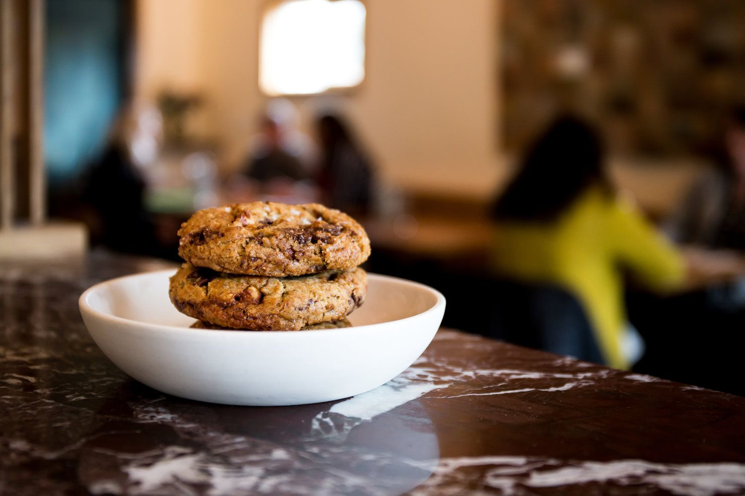 Chocolate chip cookies at Coquine, Portland