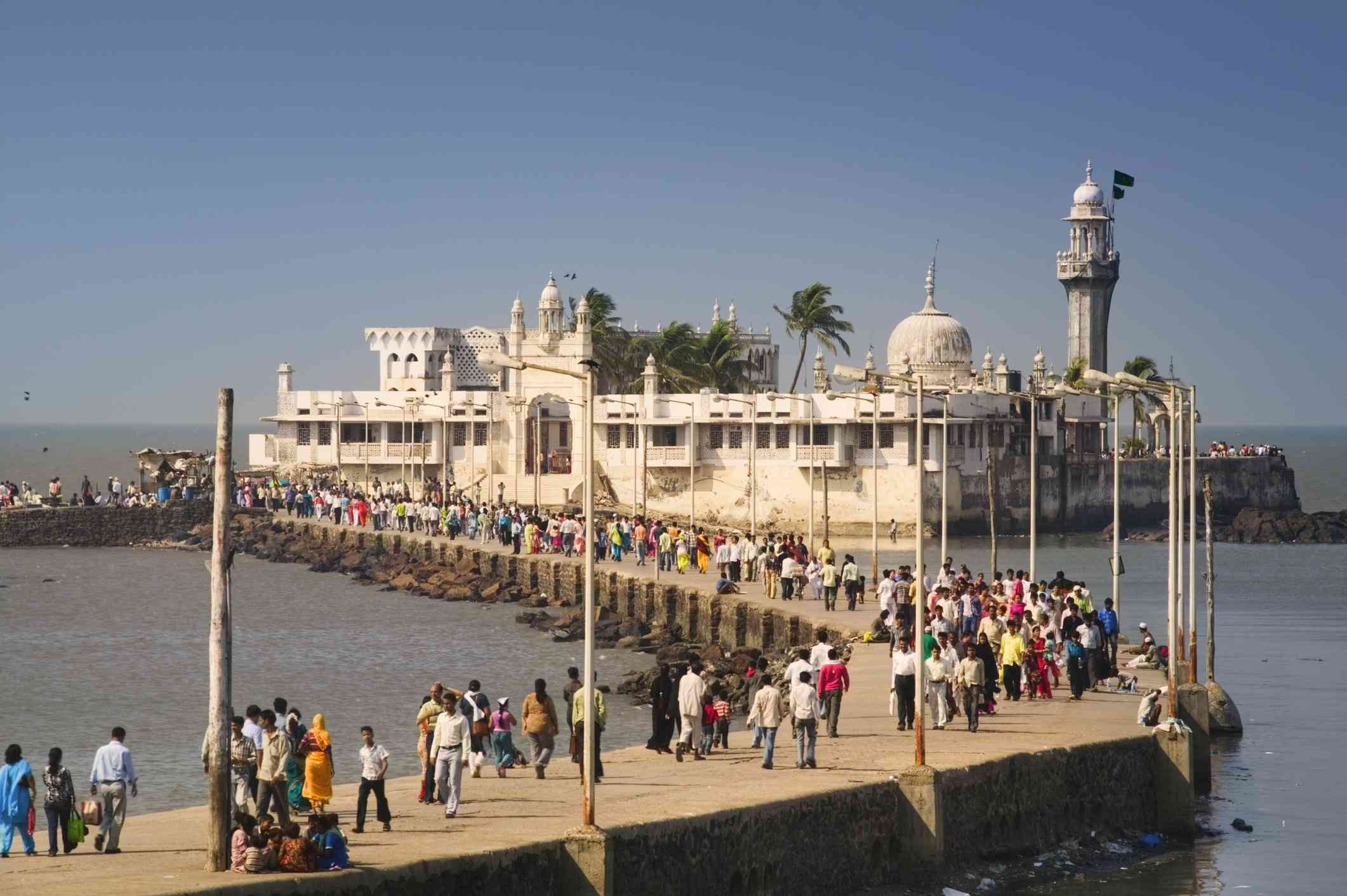 Mumbai, Haji Ali.