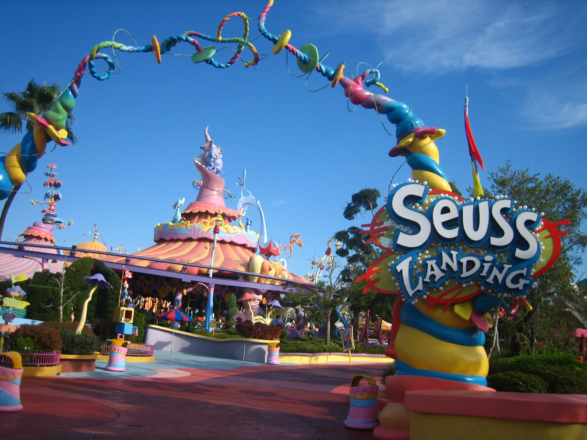 Seuss Landing Fun For Little Kids At Universal Orlando