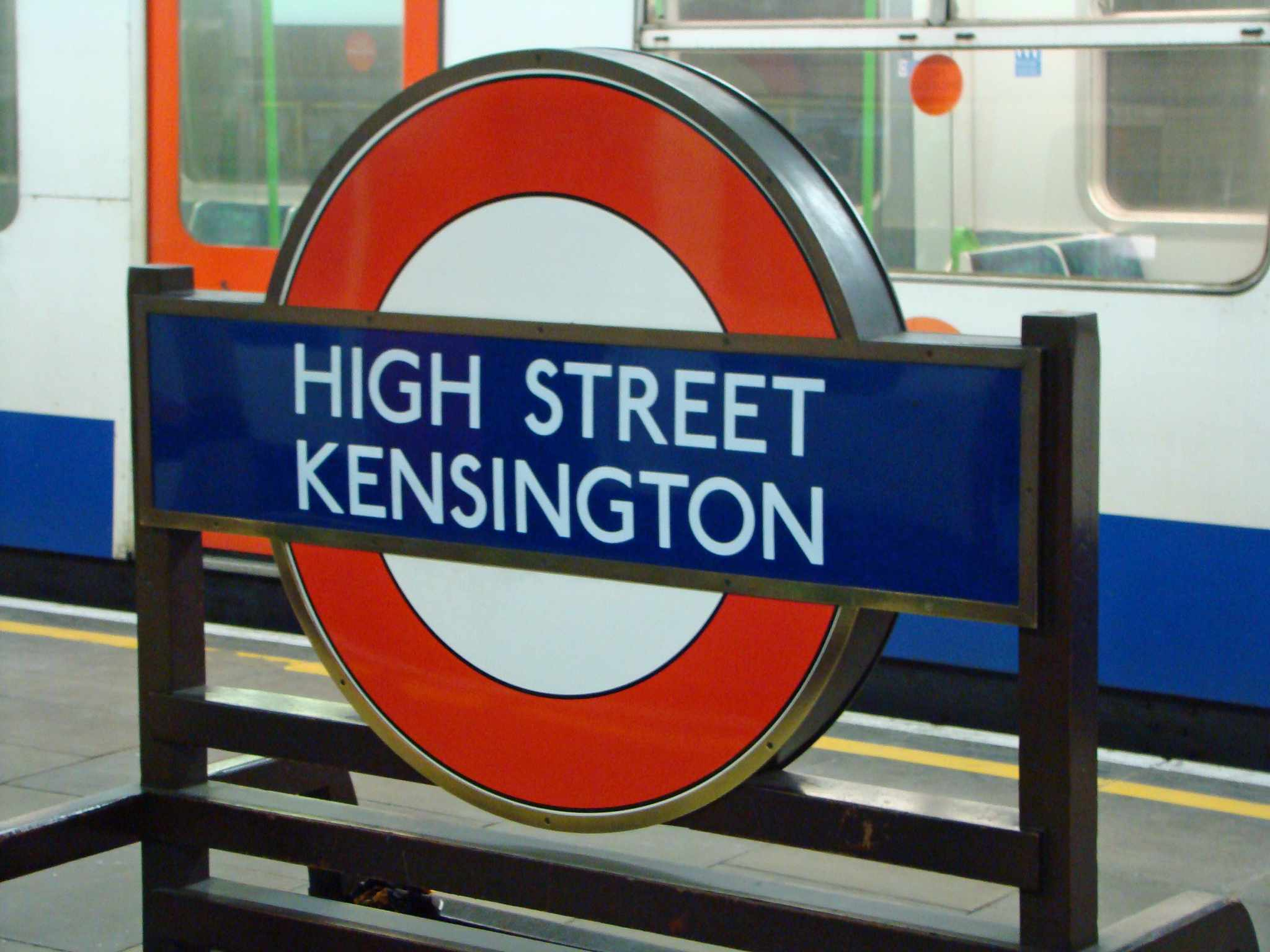 The London Underground offers economical travel through the city.